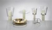 Windschutz für Kerzen