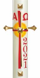 Kirchenbedarf friedrich moderne osterkerzen online kaufen for Osterkerzen modern