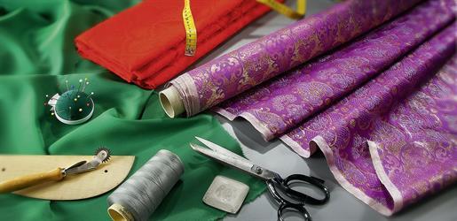 Paramentenstoffe - Stoffe für Messgewänder, Talare usw...