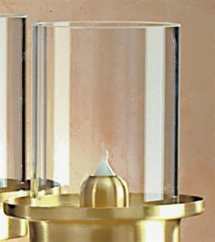 Ersatzzylinder für Flambeaux aus Acryl
