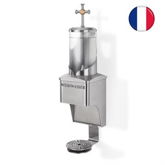 """Distributeur d`eau Bénite - 1 Liter    Texte """"EAU BÉNITE"""""""