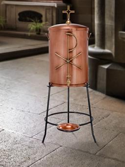 """Weihwasserbehälter """"Pax"""", Kupfer, ca.43 Liter"""