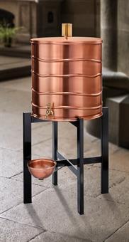 """Weihwasserbehälter """"Wasser"""", Kupfer, ca.47 Liter"""