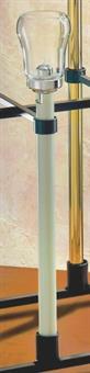"""Flambeaux-Stab """"Klassik"""", 50 cm elfenbeinfarben"""