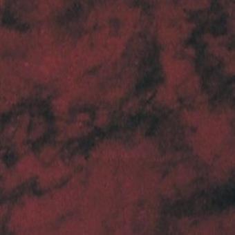 Verzierwachsplatte, rot marmoriert