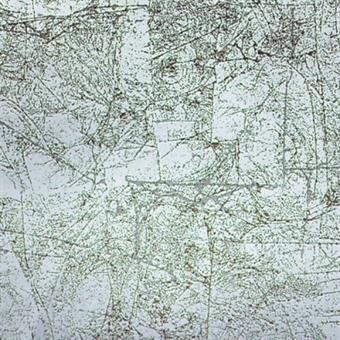Verzierwachsplatte, antiksilber