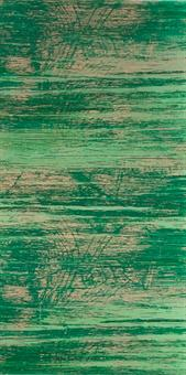 Verzierwachsplatte, grün strukturiert