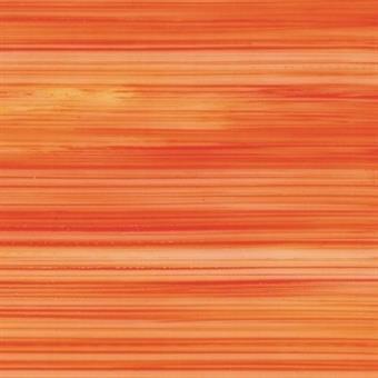 Verzierwachsplatte, transparent, orange bemalt, 10er Pack