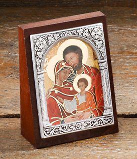 """Ikone""""Hl. Familie""""Format ca. 6,5 x 5 cm"""