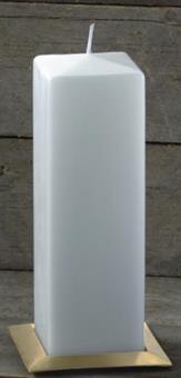 Vierkantkerze, Format 25 x 8 x 8 cm