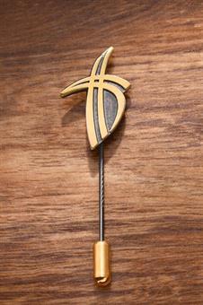 Ansteck-Kreuz für Diakone