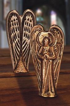 Bronze-Engel, im Geschenkkarton