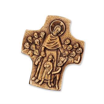 "Bronzekreuz ""Jesus der Kinderfreund"""