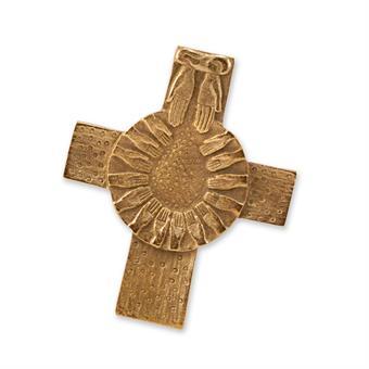 """Bronzekreuz """"Brot vom Himmel"""""""