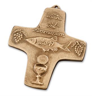"""Bronzekreuz """"Meine Erstkommunion"""""""
