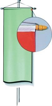 Bannereinrichtung, 120 cm