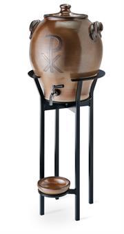 Weihwasserkessel-Eisengestell