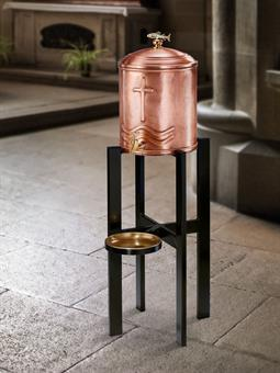 Weihwasserbehälter, Kupfer
