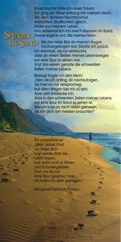 """Faltkarte """"Spuren im Sand"""""""