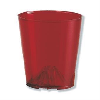 Windschutzbecher, rot