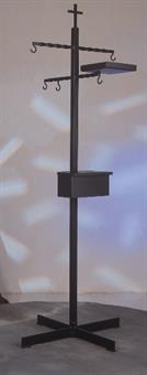 Rauchfass-Ständer mit Kohlekasten
