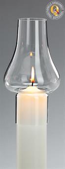Windschutzglas, Tulpenform 6 cm