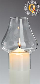 Windschutzglas, Tulpenform 7 cm