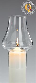 Windschutzglas, Tulpenform 8 cm