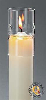 Windschutzglas, Zylindrisch 5 cm