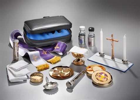Messtasche, für Tauffeiern und Segnungen