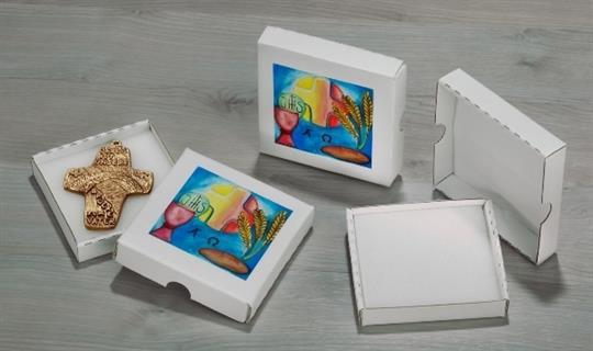 Geschenkkarton mit Motiv