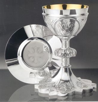 Kelch mit Patene, Cuppa Sterling Silber