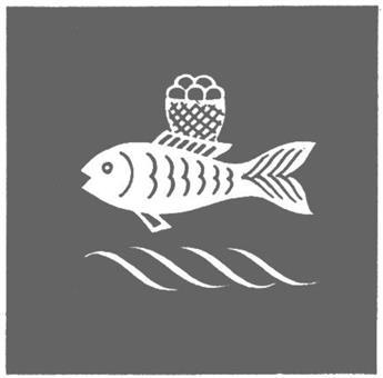 """Palla, Motiv """"Fisch"""""""