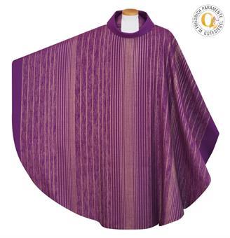 Kasel, Wollmischgewebe, violett
