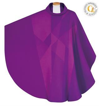 Kasel,violett mit Innenstola