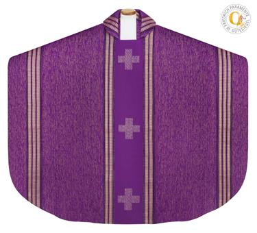 Kasel, violett mit Innenstola