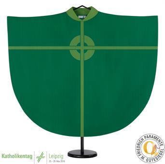 Kasel, grün mit Innenstola