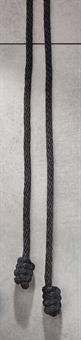 Zingulum mit Knoten, schwarz