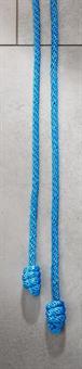 Zingulum mit Knoten, blau
