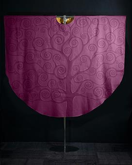 Kasel violett ,  mit Innenstola