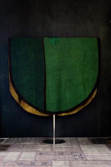Kasel grün,  mit Innenstola