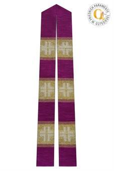 Langstola, Wolltrevira, violett