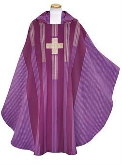 Kasel mit Innenstola, violett