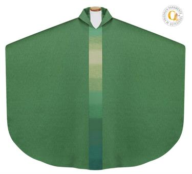Kasel mit Innenstola grün