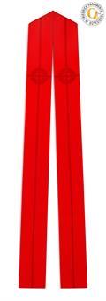 Langstola, rot, Wolltrevira