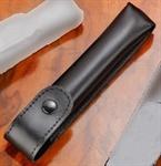 Lederetui für Taschenaspergill mit 13,5 cm Länge
