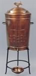 Weihwasserbehälter, Kupfer, 50 Liter