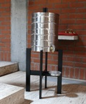 Weihwasserbehälter, Edelstahl, 40 Liter