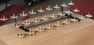 Kommunionkerzen-Aufsatz f. 34 Kerzen