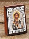 "Ikone ""Christus""Format ca. 6,5 x 5 cm"
